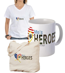 Get Your Mo's Heroes Gear at our CafePress Store