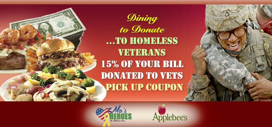 Applebees Mo's Heroes CONVERSION Campaign